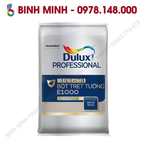 Sơn Dulux Proesional bột bả ngoại thất Weathershield E1000 40KG Bình Minh Hà Nội