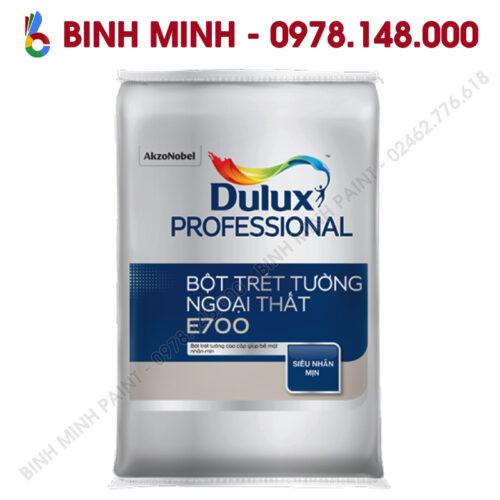 Sơn Dulux Proesional bột bả ngoại thất E700 40KG Bình Minh Hà Nội