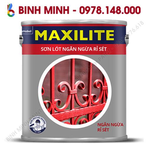 Sơn Maxilite lót ngăn ngừa rỉ sét 3L Bình Minh Hà Nội