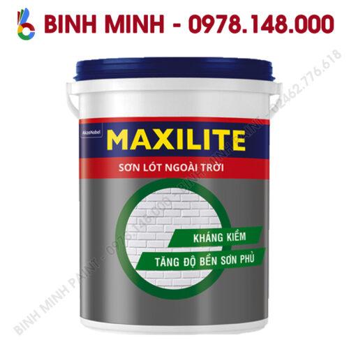 Sơn Maxilite Lót Ngoài Nhà 18L Binh Minh Hà Nội