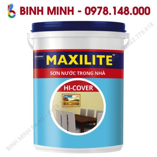 Sơn maxilite trong nhà Hi Cover 18L Binh Minh Hà Nội