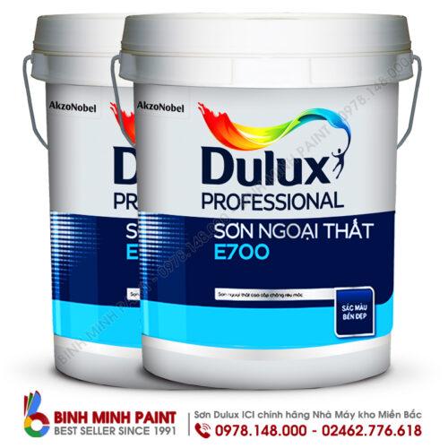Sơn Dulux Ngoại Thất E700 Pro