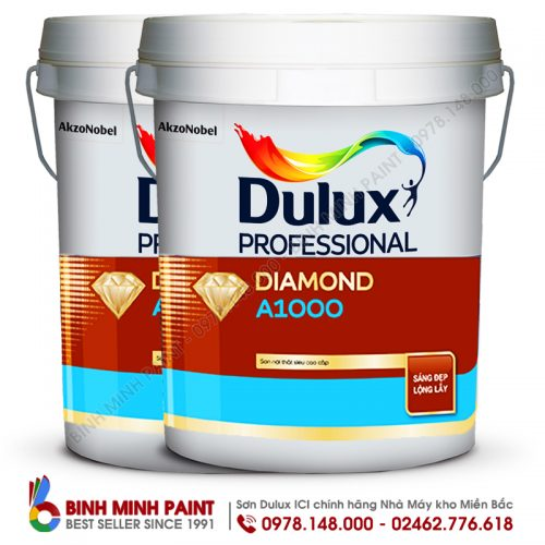 Sơn Dulux Diamond A1000 Pro Bóng